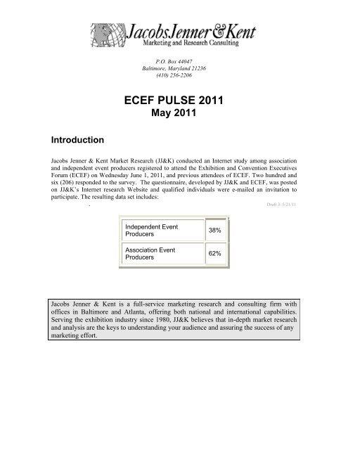 ECEF PULSE 2011