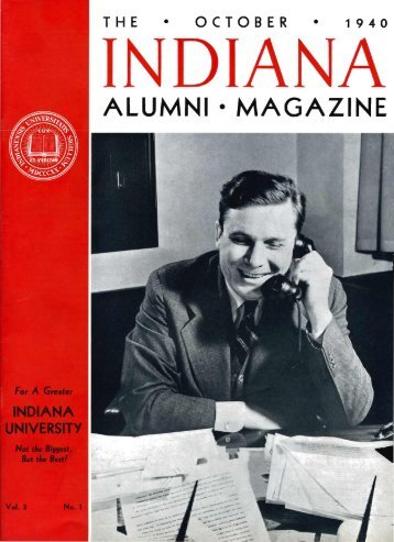 ALUMNI • MAGAZINE - AIM @ IU Home - Indiana University