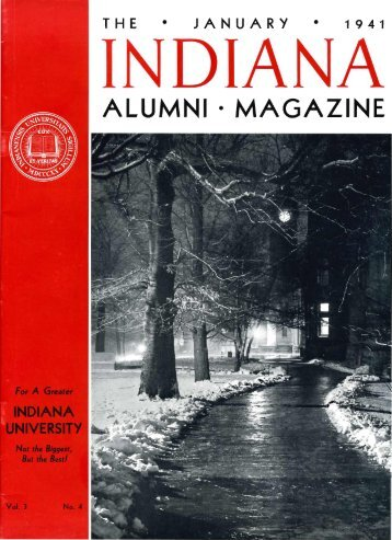 ALUMNI · MAGAZINE - AIM @ IU Home - Indiana University