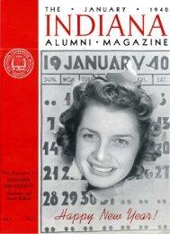 ALUMNI • MAGAZINE - AIM @ IU Home - Indiana University
