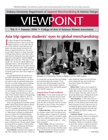 Asia trip opens students' eyes to global merchandising