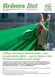 Grünes Blatt - Die Grünen Brunn am Gebirge