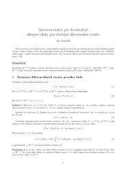 Rychlý úvod do Greenových funkcí pro obyčejné diferenciální rovnice