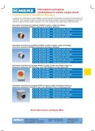 Interrupteurs principaux et accessoires - Spälti