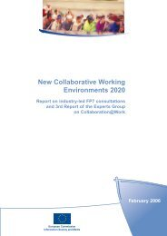 New Collaborative Working Environments 2020 - AMI@Work on-line ...