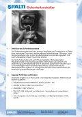 Sicherheitsschalter für indirekte Abschaltung - Spälti - Seite 2