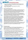 Sicherheitsschalter für indirekte Abschaltung - Spälti - Seite 3