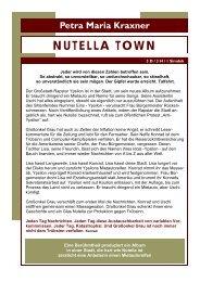 Nutella Town - THOMAS SESSLER - Verlag