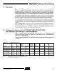 AT91SAM7S Series Preliminary - Responsive Environments Group - Page 3
