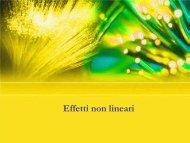 Il coefficiente di non-linearità - InfoCom