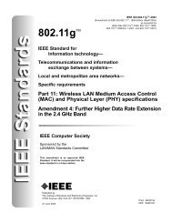 IEEE Std 802.11g-2003 - Stephan Robert