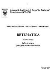 E-mail al docente: Vincenzo Eramo - Sapienza