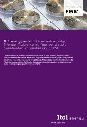chauffage, ventilation, climatisation et sanitaires» (CVCS)