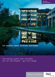 1to1 energy water star business: Gut für die Umwelt – gut fürs Image ...