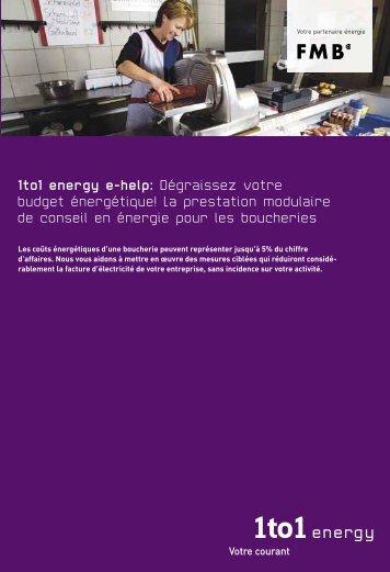 1to1 energy e-help: Dégraissez votre budget énergétique! La ...