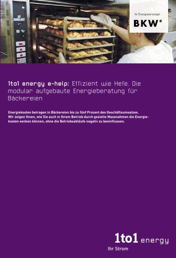 1to1 energy e-help: Effizient wie Hefe. Die modular aufgebaute ...