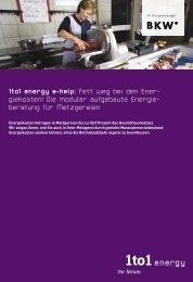 1to1 energy e-help: Fett weg bei den Ener- giekosten! Die modular ...