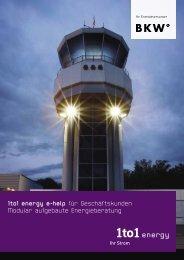 1to1 energy e-help für Geschäftskunden Modular aufgebaute ...