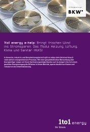 1to1 energy e-help: Bringt frischen Wind ins Stromsparen. Das ...