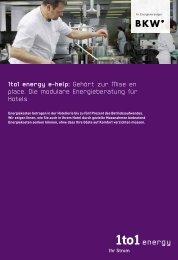 1to1 energy e-help: Gehört zur Mise en place. Die modulare Energie ...