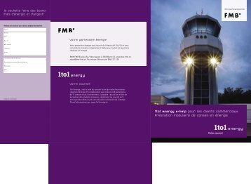 Brochure de base 1to1 energy e-help