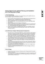 Unsere Tipps für eine optimale Planung und Installation einer ...