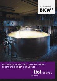 1to1 energy break: der Tarif für unter- brech bare Anlagen und Geräte