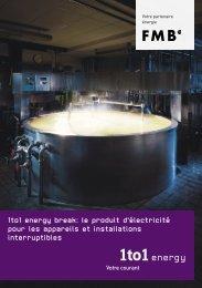 1to1 energy break: le produit d'électricité pour les appareils et ...