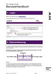 Benutzerhandbuch e-bench d