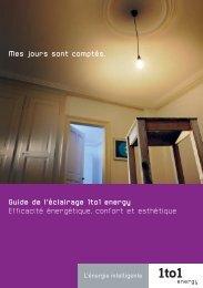 Mes jours sont comptés. Guide de l'éclairage 1to1 energy Efficacité ...