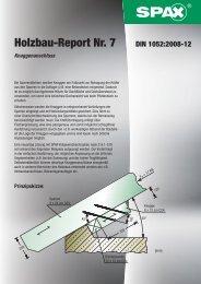 Holzbau-Report Nr. 7 - 1aSchrauben.de