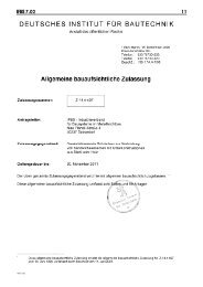 Reisser bauaufsichtliche Zulassung Z.14.4-407 - 1aSchrauben.de