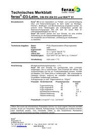 Technisches Datenblatt - 1aSchrauben.de