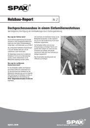 Holzbau-Report - 1aSchrauben.de