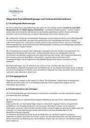 Allgemeine Geschäftsbedingungen und ... - 1aSchrauben.de