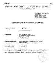 Reisser bauaufsichtliche Zulassung Z.14.1-4 - 1aSchrauben.de