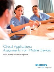 Assignments from Mobile Devices - InCenter - Philips
