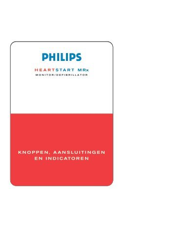 KNOPPEN, AANSLUITINGEN EN INDICATOREN - Philips