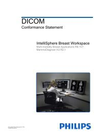 DICOM Conformance Statement - Philips