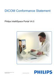 DICOM Conformance Statement - InCenter - Philips