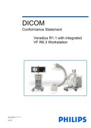 DICOM Conformance Statement - Toshiba America Medical Systems