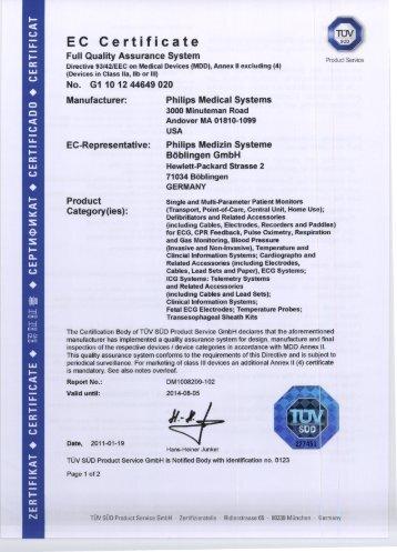 certificato - Immergas