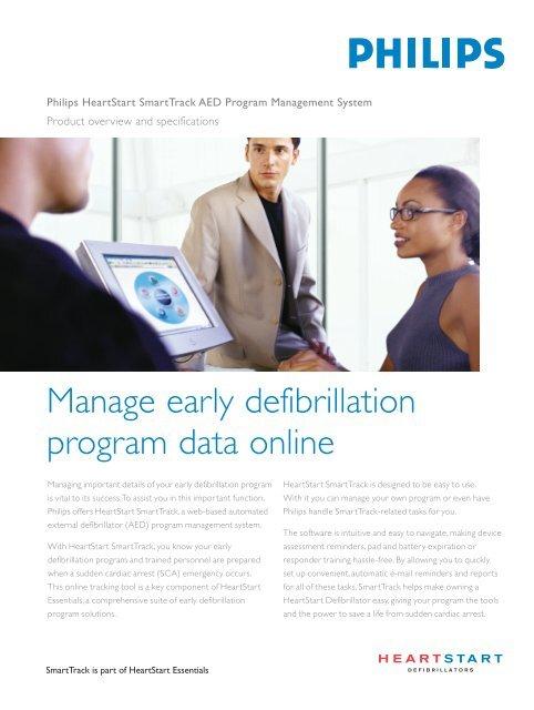 Philips HeartStart SmartTrack AED Program Management System