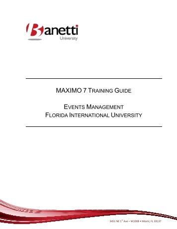 banetti magazines rh yumpu com CMMS Maximo Training maximo 7.5 training manual