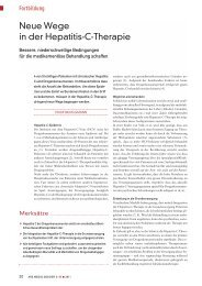 Neue Wege in der Hepatitis-C-Therapie