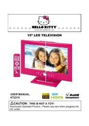 "15"" LED TELEVISION - Sears"