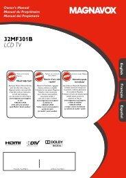 32MF301B LCD TV