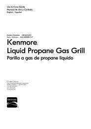Kenmore≈ - Sears