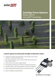 Optimizer OPI300LV mit IndOP-Technologie - Krannich Solar