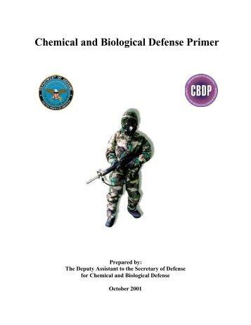 Chemical & Biological Defense Primer - Medical and Public Health ...